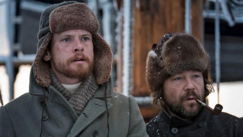 Колин Фаррелл пытается выжить в китобойной экспедиции в трейлере драмы «Северные воды»
