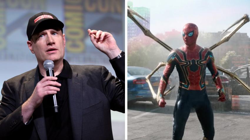 Фанаты Marvel представили гневную реакцию Кевина Файги на слив трейлера «Человека-паука 3»