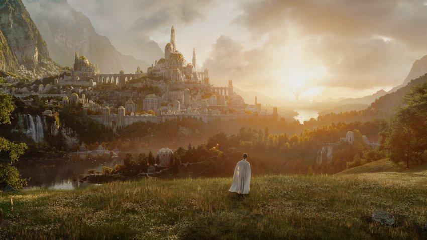 Представлен первый кадр из сериала «Властелин колец», он выйдет в сентябре 2022 года