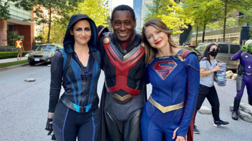 Завершились съемки финального сезона «Супергерл»