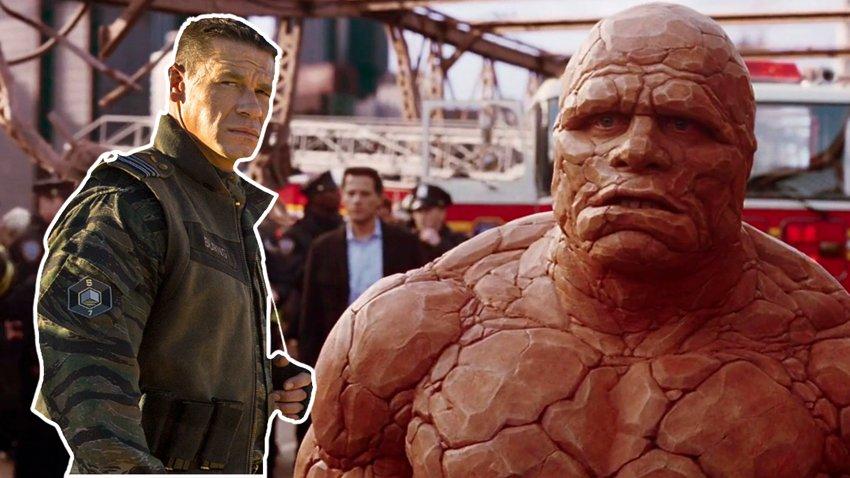 Джон Сина выразил готовность сыграть Существо в «Фантастической четверке» от Marvel