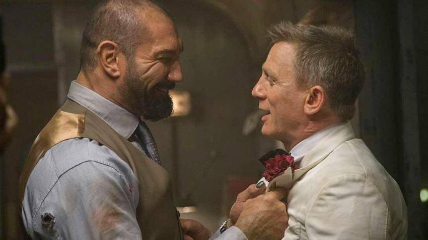 Дэниэл Крэйг сломал нос Дэйву Батисте на съемках фильма «007: Спектр»