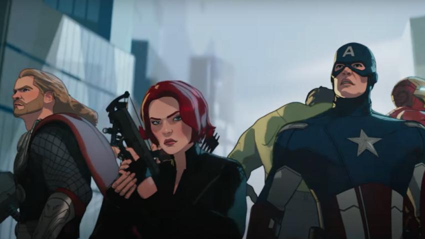 Вышел трейлер второй половины сериала «Что, если…?» от Marvel