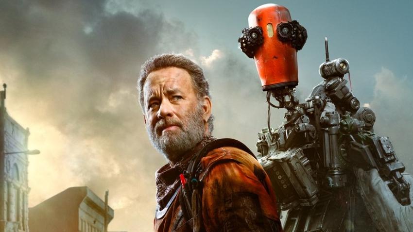 Том Хэнкс отправляется в опасное путешествие с роботом и собакой в первом трейлере «Финча»