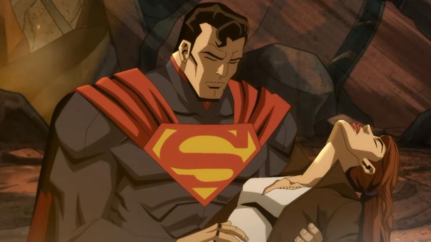 Вышел первый трейлер мультфильма DC по видеоигре Injustice: Gods Among Us