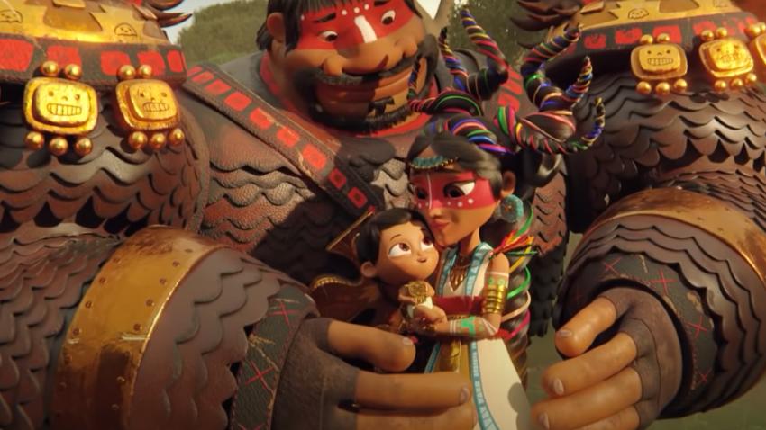 Вышел русский трейлер мультсериала от Netflix «Майя и три воина»