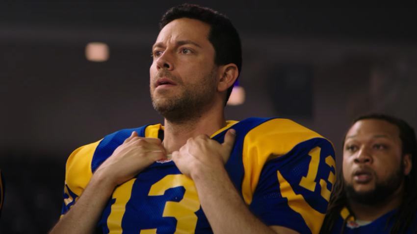 Закари Ливай в первом трейлере спортивной драмы «Американский неудачник»