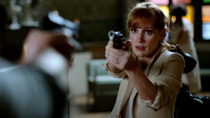 Джессика Честейн расправляется с противниками в трейлере женского боевика «Код 355»
