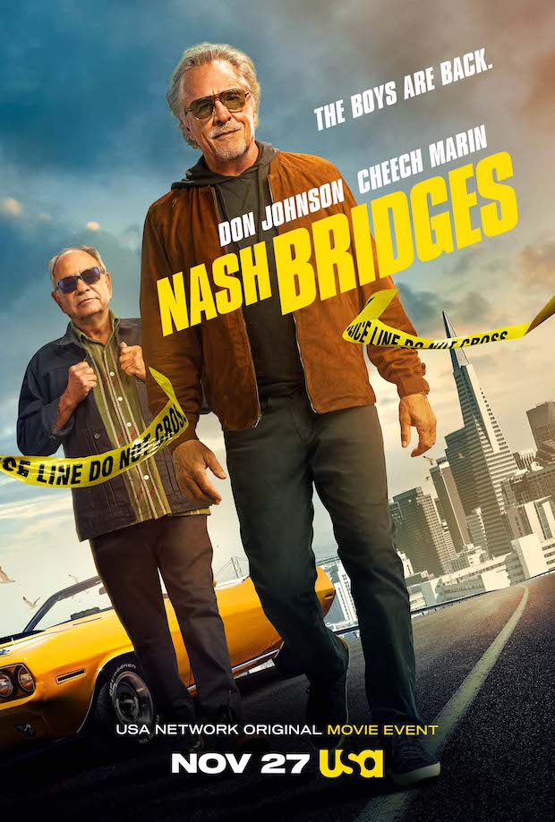 Фильм по сериалу 90-х «Детектив Нэш Бриджес» выйдет в ноябре этого года