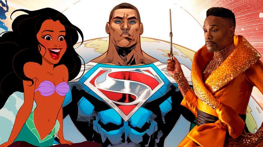 Известные герои, которые в ближайшем будущем изменят цвет кожи на черный